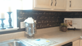 A Budget Stenciled Backsplash (Under $150)