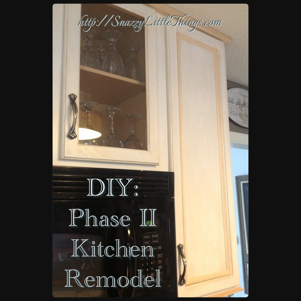 DIY: Phase II Kitchen Remodel