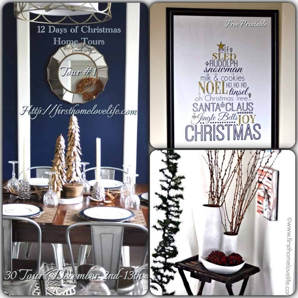 12 Days of Christmas Home Tours