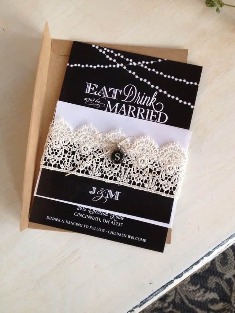 Vintage Wedding Invitations | by SnazzyLittleThings.com