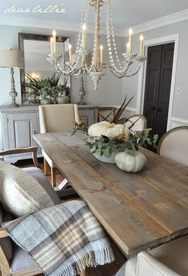 Five Rustic Glam Dining Rooms Snazzy Little Things