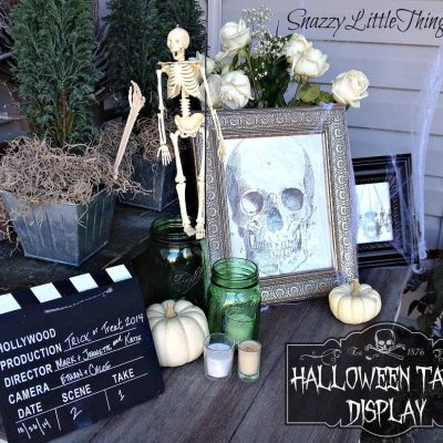 halloween table 2014
