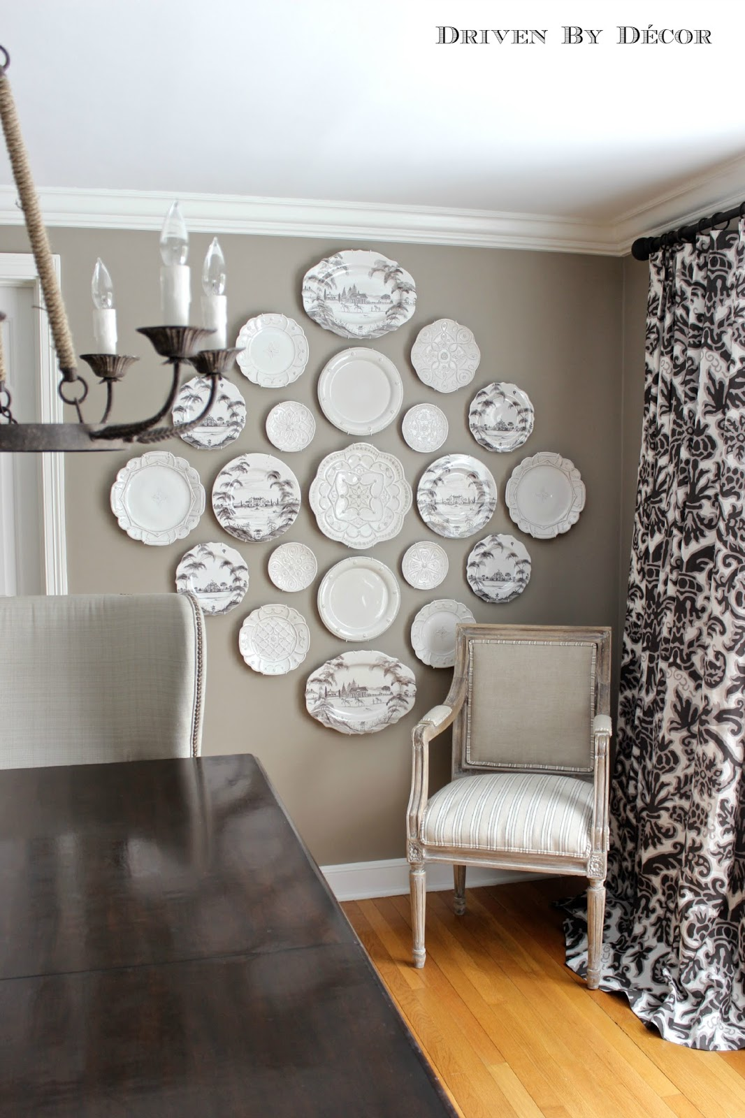 Glam Wall Decor five rustic glam dining rooms | snazzy little things