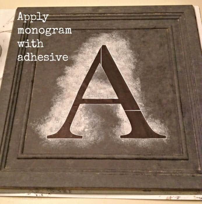 monogram adhesive
