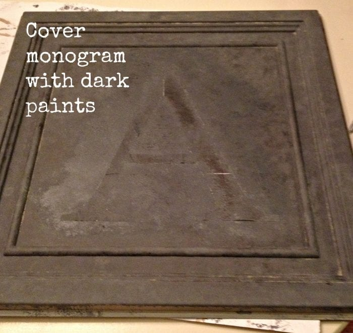monogram covered