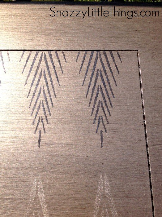 stencil african plumes