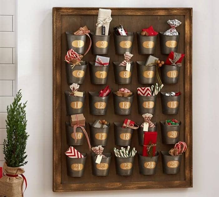 Pottery Barn Advent Calendar Snazzy Little Things